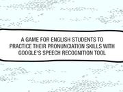 Easy Way Online Commercial: Pronunciation Game