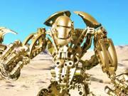 George Carlin Robot Animation