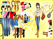 Cowboy Boots Dressup