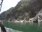 Views from the Oboke Gorge Sightseeing Boat Tour