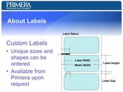 Presentation: LX-Series Label Printer 2010
