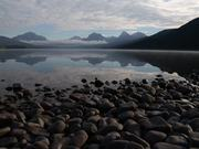 Misty Morning at Lake McDonald