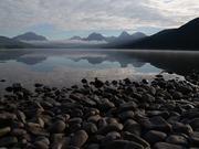 Misty Morning at Lake McDonald