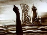 Kiwi Sand Art - Oriental Journey