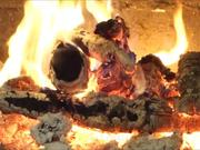 Beethoven - Symphony No 3 and Fireplace in Macro