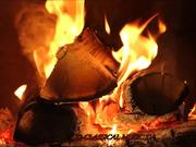 Mozart - String Quintet No.3 and Fireplace HD