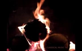 Flames in the Macro and Classical Music