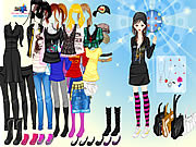 Girl Emo Fashion
