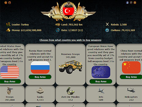 Middle East Empire 2027 Game - Play online at Y8.com