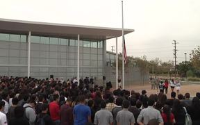 Technology Center Flag Raising Ceremony