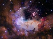 Flight through star cluster Westerlund 2-fast
