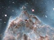 Pillars in the Monkey Head Nebula