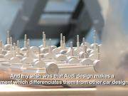 behind the scenes look at AUDI's design