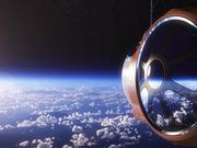 balloon experience takes you into outerspace