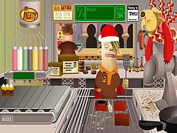 mr meaty holiday havoc game play online at y8 com