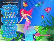 Little Mermaid Calendar 2008