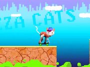 Pizza Cats Video Game Motion Graphic