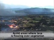 Hawaii Volcanoes National Park: Lava Safety Video