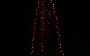 Spiral Fireworks at the Burj Khalifa