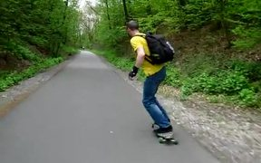 Longboarding Panorama Bikeway
