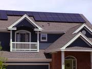 Residential Photovoltaic Solar Panels B-Roll
