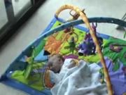 Baby Aidan on Playmat
