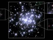 Massive Star Cluster in NGC 3603 in 1997 and 2007