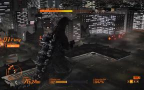 Godzilla PS4 - Gameplay