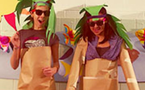 """The Delphines   """"Toytonic""""   video by students"""