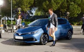 Toyota Commercial: Lie Detector: Sensitive