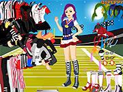 Sports Girl Dressup