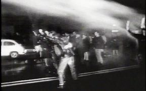 Peace Riot In Rome 1967