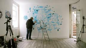 Artist Drew Millward