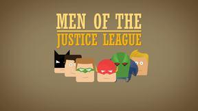 Justice League Minimalist Animation