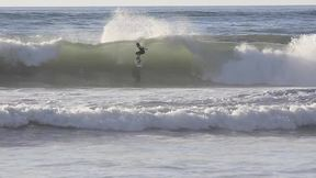 A Talented Kid to Conquer the Ocean Waves