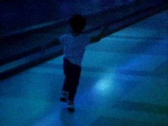 Kid Dancing in an Airport