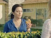 Quaker Cookies Commercial: Hedge