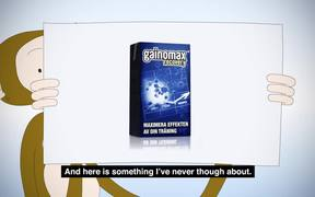 Gainomax Recovery Drink Commercial: Banana