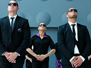 Air New Zealand Commercial: Men in Black