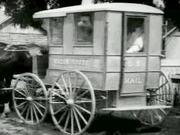 Postman Picking Up Mail RFD 1903