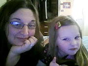 Kate Discovers the Webcam