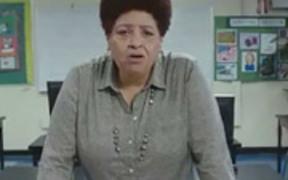 Hefty Commercial: No School Ever: Mrs. Bush