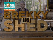Home Timber & Hardware Video: Brekky in Shed