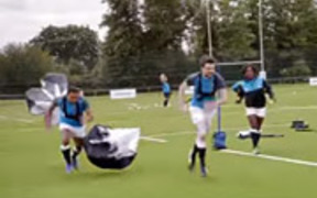 Samsung Campaign: School of Rugby: Speed