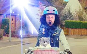 Riding My Bike and Singing with My Cat