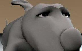 Dog Facial Animation Test