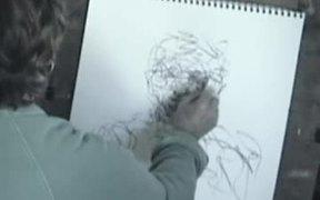 Gesture Drawing Demonstration - portrait