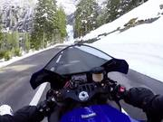 Yamaha R1 Grimselpass Switzerland
