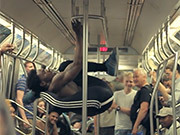 NY Subway Dancers