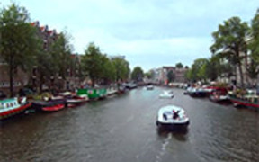 Amsterdam City Time Lapse